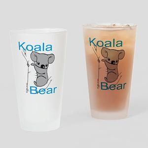 Cute Koala Bear (1) Drinking Glass