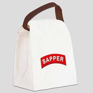 Sapper Tab Canvas Lunch Bag