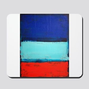 ROTHKO RED_BLUE Mousepad
