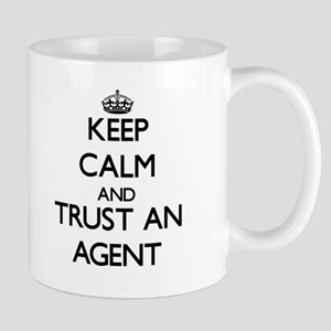 Keep Calm and Trust an Agent Mugs