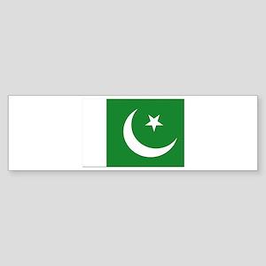 Flag of Pakistan - NO Text Sticker (Bumper)