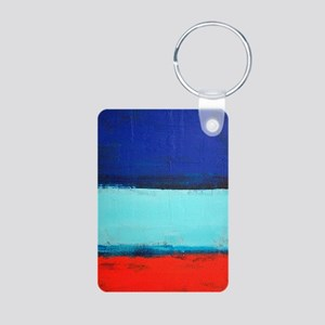 ROTHKO RED_BLUE Keychains