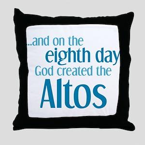 Alto Creation Throw Pillow