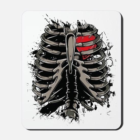 Skeleton Rib Cage Mousepad
