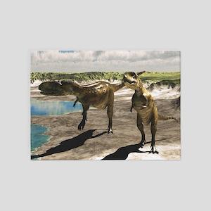 Abelisaurus 5'x7'Area Rug