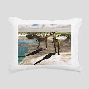 Abelisaurus Rectangular Canvas Pillow