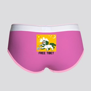 Free Tibet - Old Flag Women's Boy Brief