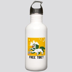Free Tibet - Old Flag Stainless Water Bottle 1.0l