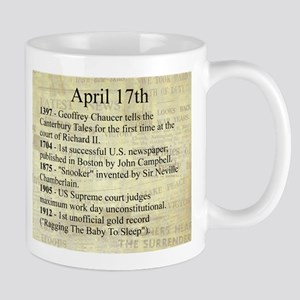 April 17th Mugs