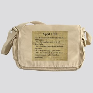April 13th Messenger Bag