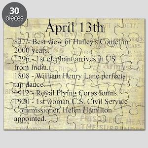 April 13th Puzzle