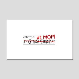 Job Mom 3rd Grade Car Magnet 20 x 12