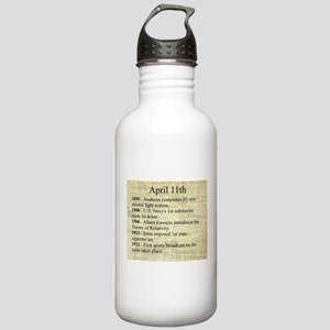 April 11th Water Bottle