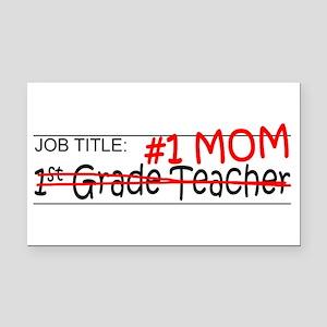 Job Mom 1st Grade Rectangle Car Magnet