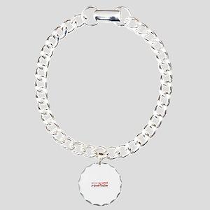 Job Mom 1st Grade Charm Bracelet, One Charm