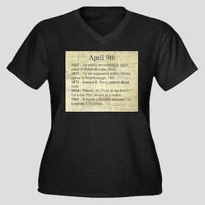 April 9th Plus Size T-Shirt