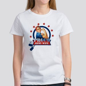 Rosie Proud Army Wife Women's T-Shirt
