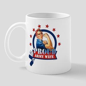 Rosie Proud Army Wife Mug