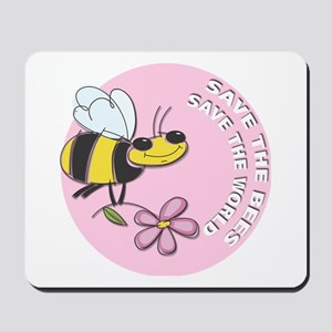 Save The Bees Mousepad
