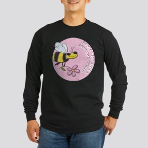 Save The Bees Long Sleeve Dark T-Shirt