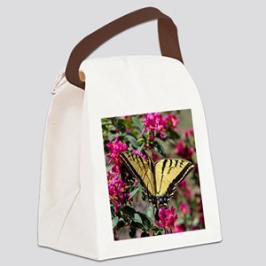 Tiger Swallowtail Canvas Lunch Bag