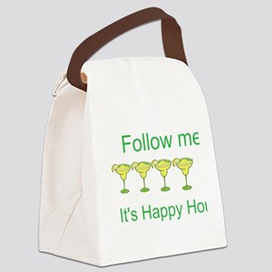 Its Happy Hour! Canvas Lunch Bag