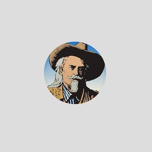 Buffalo Bill Mini Button