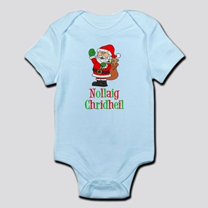 Nollaig Chridheil Scottish Child Body Suit