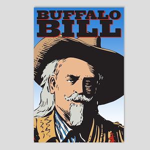 Buffalo Bill Postcards (Package of 8)
