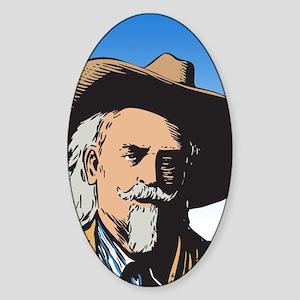 Buffalo Bill Oval Sticker