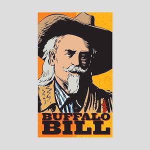 Buffalo Bill Rectangle Sticker