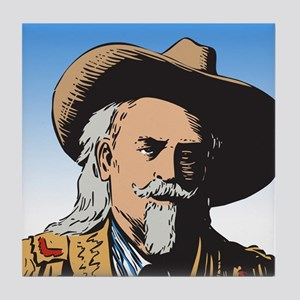 Buffalo Bill Tile Coaster