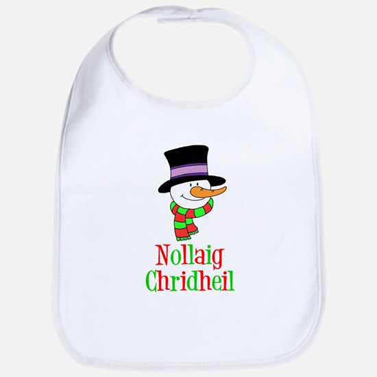 Nollaig Chridheil Scottish Child Bib