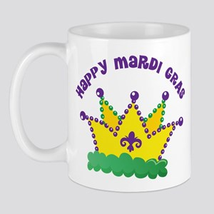 Happy Mardi Gras Mug