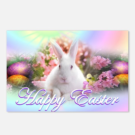 Happy-Easter-Bunny- Postcards (Package of 8)