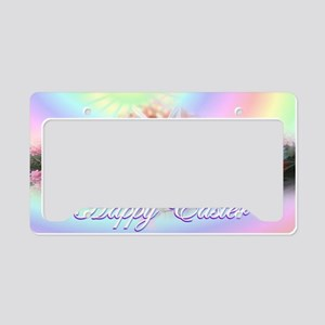 Happy-Easter-Bunny- License Plate Holder