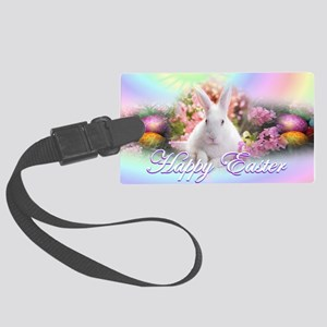 Happy-Easter-Bunny- Large Luggage Tag