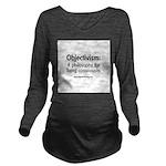 consciously Long Sleeve Maternity T-Shirt