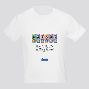 Kids I'm Calling Papou T-Shirt