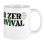 Year Zero Survival Target Zombies Logo Mugs