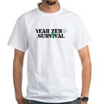 Year Zero Survival Target Zombies Logo T-Shirt