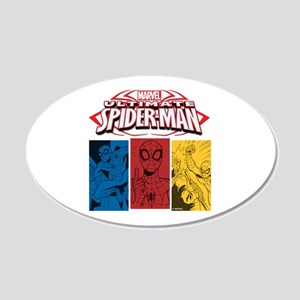 The Ultimate Spiderman 20x12 Oval Wall Decal