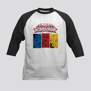 The Ultimate Spiderman Kids Baseball Jersey