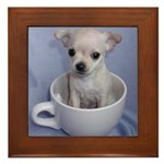 Tuff-Puppy Framed Tile