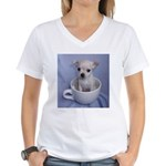 Tuff-Puppy Women's V-Neck T-Shirt