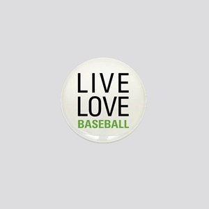 Live Love Baseball Mini Button