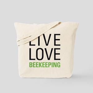 Live Love Beekeeping Tote Bag