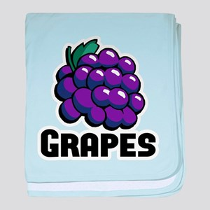 Bunch of Grapes baby blanket