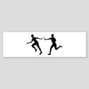 Relay race Sticker (Bumper)