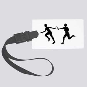 Relay race Large Luggage Tag